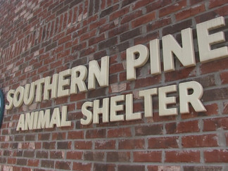 National nonprofit organization donates food, supplies to Southern Pines Animal Shelter