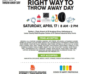 Organizers prepare for Right Way to Throw Away Day