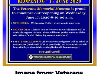 Veterans Memorial Museum in Laurel reopening