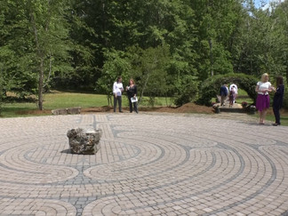 Pine grove dedicates Meditative Labyrinth and Fire Circle to campus