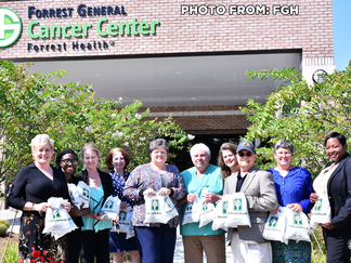 BancorpSouth donates bags of kindness to FGH Cancer Center