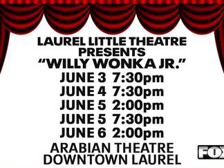 "LLT presents ""Willy Wonka Jr."""