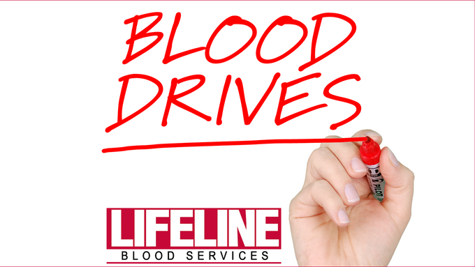 Lifeline Blood Services hold blood drives in January