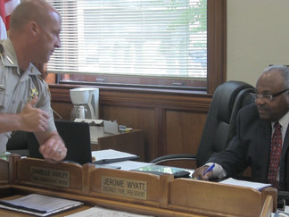 Jones County Sheriff and the Board of Supervisors can not agree on a budget