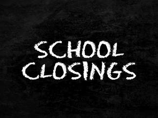 School closings for March 25