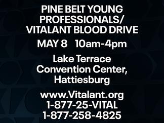 Vitalant, Pine Belt Young Professionals hold blood drive at LTCC Friday