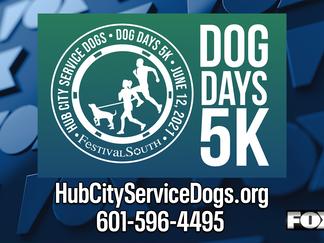 Dog Days 5K Run, 2 Mile Walk returns in June