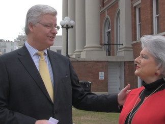 Sam Britton visits Hattiesburg after announcing candidacy for Secretary of State