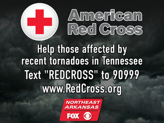 Red Cross accepting donations for tornado relief in Tennessee