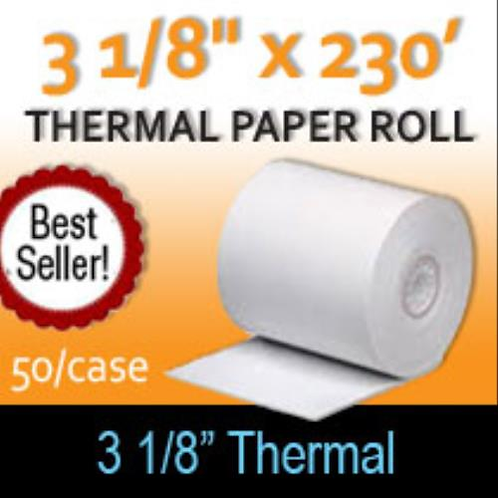 Thermal Receipt Paper - Case of 50