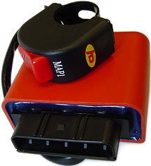 Programmable ECU for motorbikes with switch
