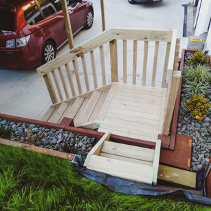 Hand Crafted Stairs