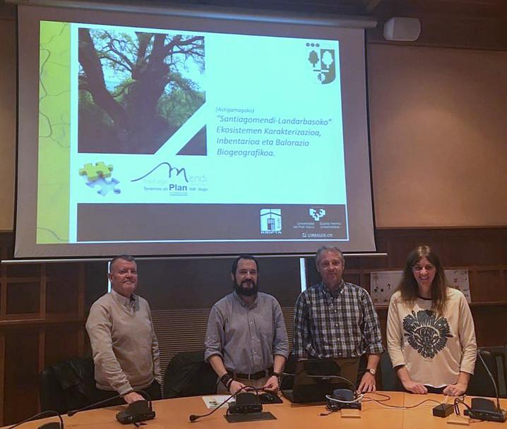 """Se presenta el proyecto de """"Caracterización, inventario y valoración biogeográfica de los ecosistema"""