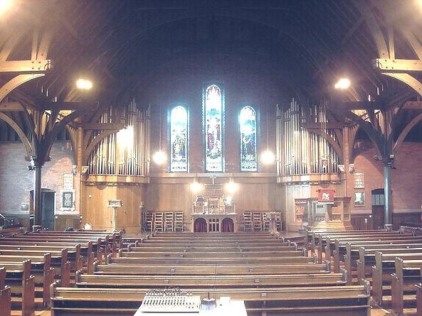 Wormit Parish Church - The Sanctuary