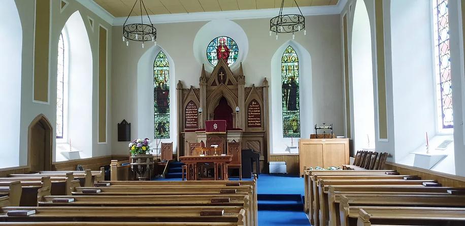 Balmerino Parish Church - The Sanctuary