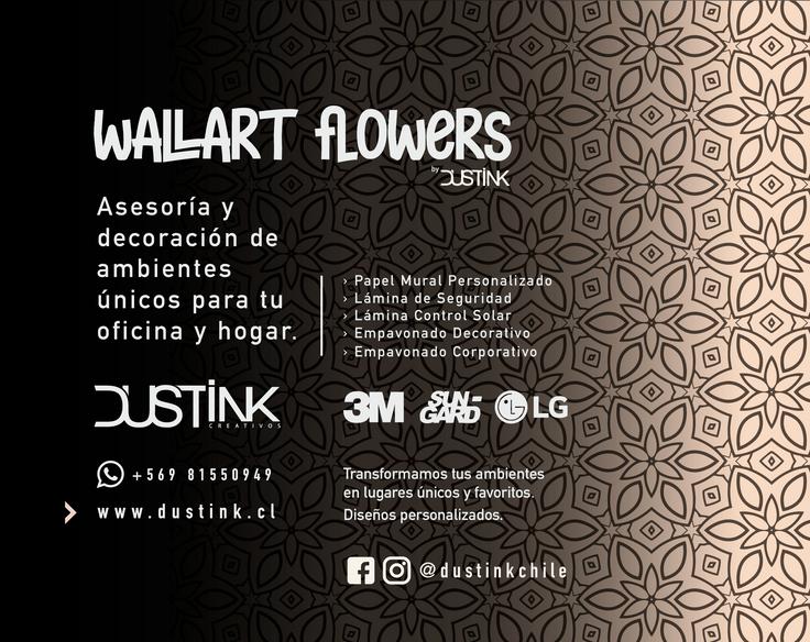 WALLART FLOWERS