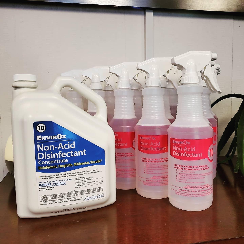 Electrostatic Spraying For COVID-19