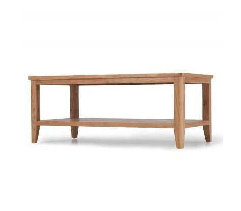 Osby Oak - Coffee Table with Shelf