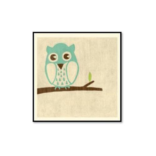 Best Friends- Owl- Framed & Mounted Art
