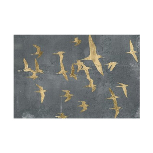 Silhouettes in Flight IV - Canvas Art