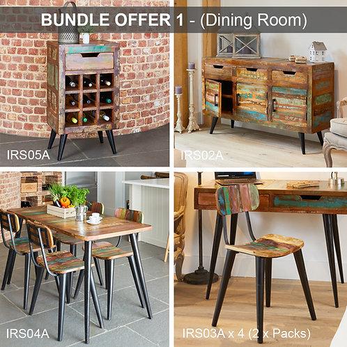 BUNDLE 1 - Coastal Chic (Dining Room)