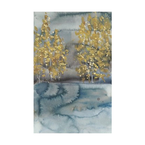 Golden Trees II - Canvas Art