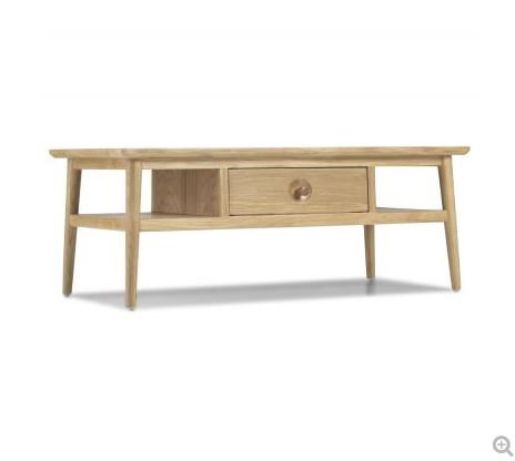 Skien Oak - Coffee Table with Drawer