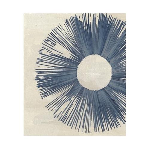 Blue Burst I - Canvas Art