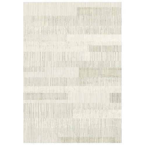 Galleria - Organic Stripes I Rug - Cream