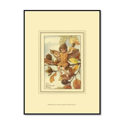 The Beechnut Fairy - Framed & Mounted Art
