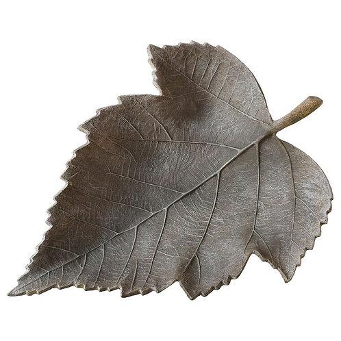 Weathered Leaf Bowl