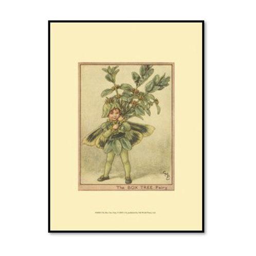 The Box Tree Fairy - Framed & Mounted Art