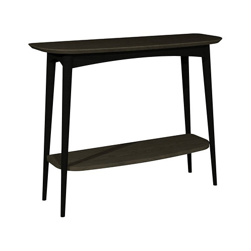 Vintage Weathered Oak Console Tables