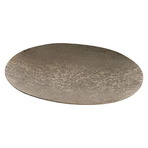 Amber Oval Platter - Gold