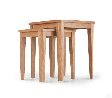 Osby Oak - Nest of 2 Tables
