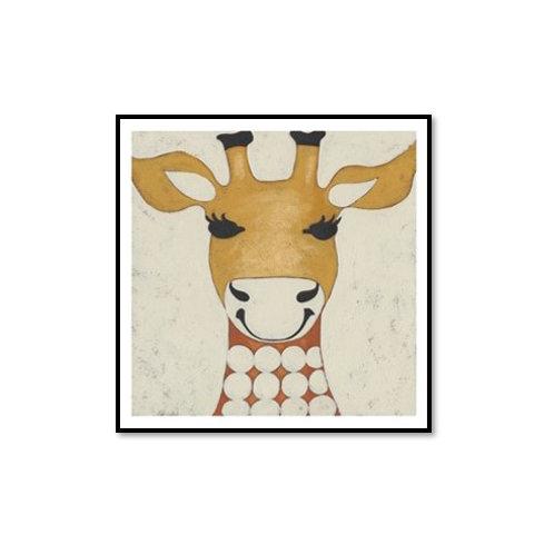 Zoo Portrait IV- Framed & Mounted Art