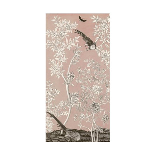 Blush Chinoiserie II - Canvas Art