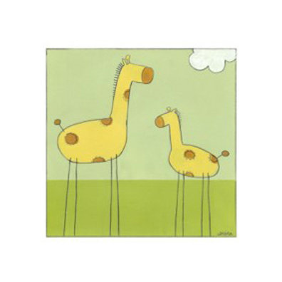 Stick-Leg Giraffe I - Canvas Art