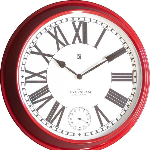 Conrad Clock - Red