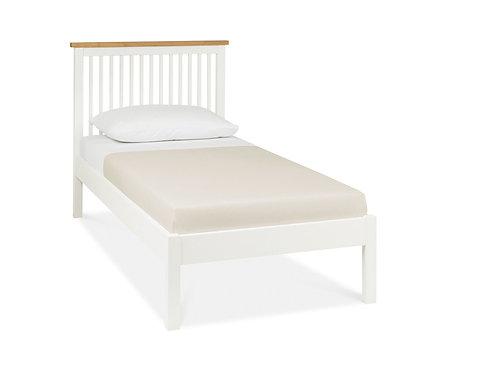 Atlanta Two Tone Low Footend Bedstead - Single 90 cm