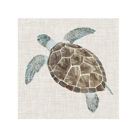 Sea Turtle II - Canvas Art