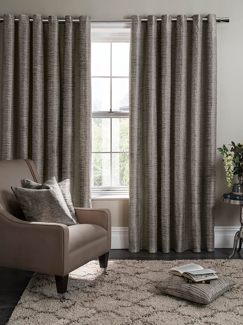 Campello Charcoal Curtains