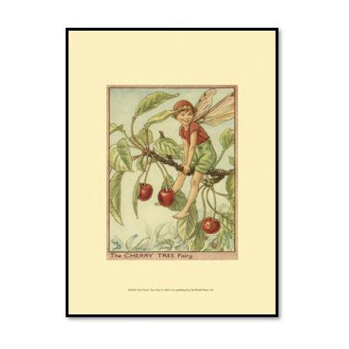 The Cherry Tree Fairy - Framed & Mounted Art