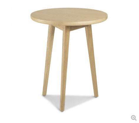 Skien Oak - Circular Lamp Table
