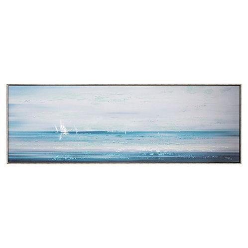 Beach Club - Canvas Art in Frame