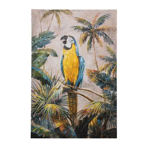 Peculiar Parrot Art Canvas