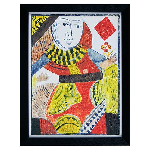 Quirky Cards IV - Framed Art