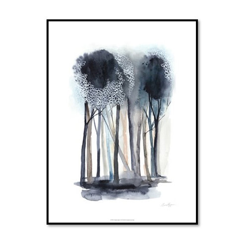 Tranquil Coppice I - Framed & Mounted