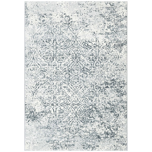 Canyon - Faded Vintage Rug - Blue