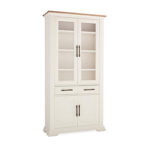 Belgrave Two Tone Display Cabinet
